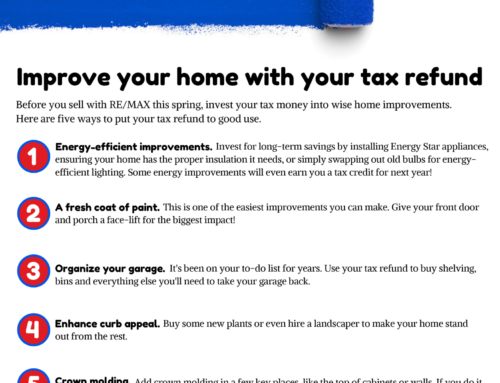 Improve Your Home with your Tax Refund