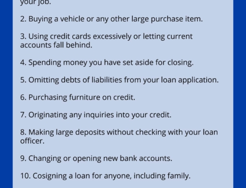 10 Things to Avoid When Buying a Home